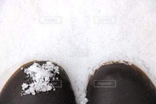 靴についた雪 - No.909981