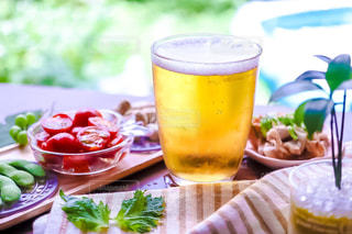 暑い日にビールの写真・画像素材[1277471]