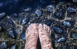足湯の写真・画像素材[1282328]