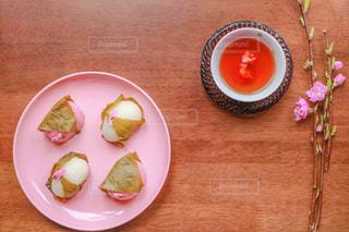 桜餅の写真・画像素材[1821994]