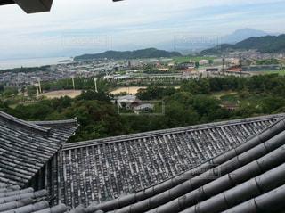 彦根城からの眺めの写真・画像素材[835943]