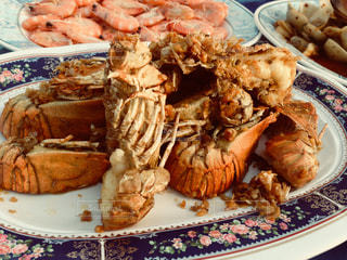 タイのエビ料理の写真・画像素材[837917]