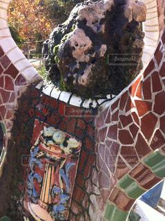 Guell Parkの写真・画像素材[838655]
