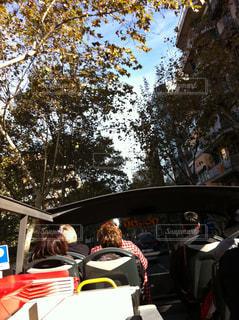 スペイン街中バスツアーの写真・画像素材[838661]