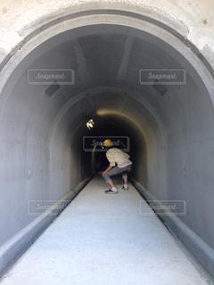 坑道入り口の写真・画像素材[844771]