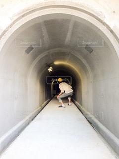 坑道入り口の写真・画像素材[844772]