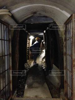 銅山 坑道内部の写真・画像素材[844794]