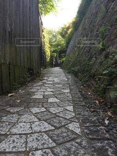雰囲気のある路地の写真・画像素材[1424030]
