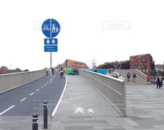デンマークの自転車専用ハイウェイの写真・画像素材[837468]