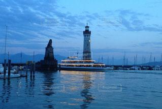 ボーデン湖の港の写真・画像素材[837714]