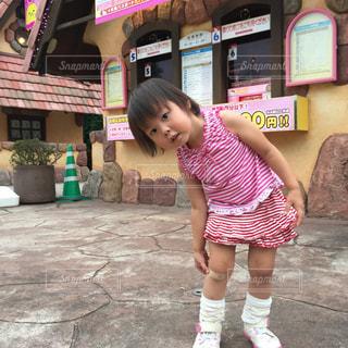 子供 ハーモニーランドの写真・画像素材[837682]