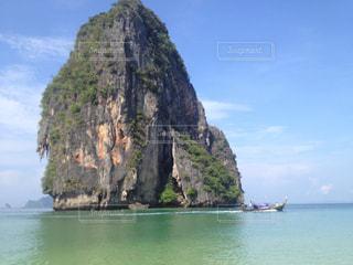 タイのクラビ、ライレイビーチの写真・画像素材[837625]