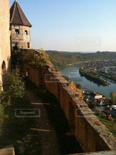 ドイツの古城ホルンベルクの写真・画像素材[837639]