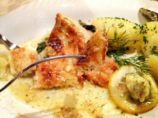 ドイツの魚料理の写真・画像素材[837814]