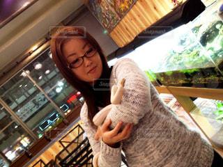 爬虫類カフェの写真・画像素材[837863]