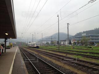 ドイツの鉄道と電車の写真・画像素材[839351]