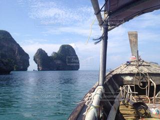 タイのボートからの風景の写真・画像素材[839398]