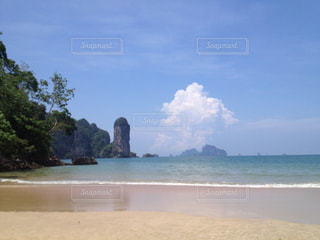 タイのクラビーのビーチの写真・画像素材[839489]