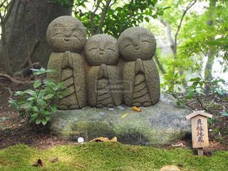 地蔵3兄弟の写真・画像素材[841738]