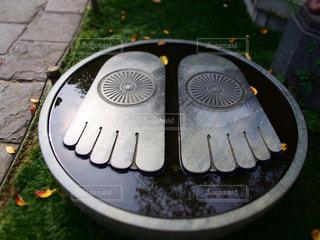 仏陀の足跡の写真・画像素材[841739]