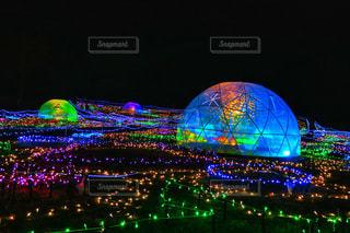 ドーム型イルミネーションIIの写真・画像素材[938197]