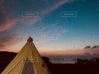 海キャンプの写真・画像素材[1312875]