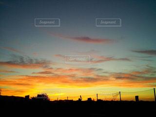 夕景の写真・画像素材[322814]