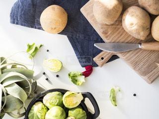 春野菜のあるキッチン - No.849141