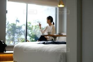 ホテルでゆっくりの写真・画像素材[3657110]