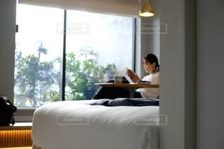 ホテルでゆっくりの写真・画像素材[3657112]