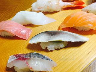 寿司屋の寿司ランチの写真・画像素材[907537]