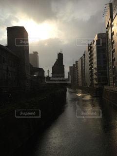 雨上がりの川 - No.841892