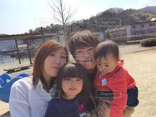 家族4人の写真・画像素材[2014769]