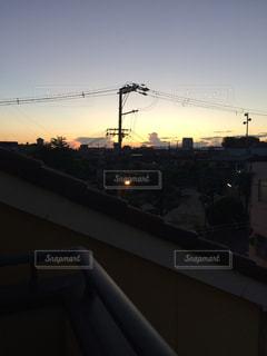 夕焼け空の写真・画像素材[841368]