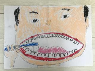 白い壁虫歯予防の写真・画像素材[3318844]