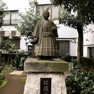 近藤勇の墓の像の写真・画像素材[840963]