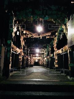 夜の絵馬橋の写真・画像素材[841041]