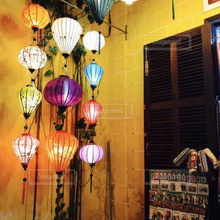 ベトナムのランプの写真・画像素材[841645]