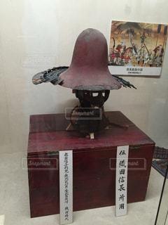 織田信長の兜の写真・画像素材[844599]