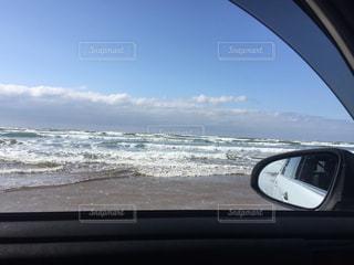 千里浜なぎさドライブウェイの写真・画像素材[1069133]
