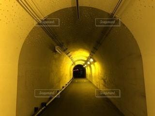 黄色いトンネルの写真・画像素材[1361118]