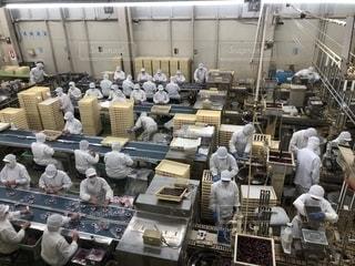 工場で働く人の写真・画像素材[1534576]