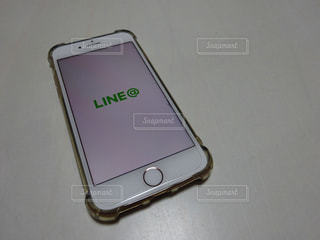 LINE@の写真・画像素材[1719521]