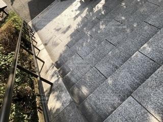 階段降りるの写真・画像素材[1804136]