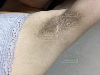 脇毛の写真・画像素材[2169936]