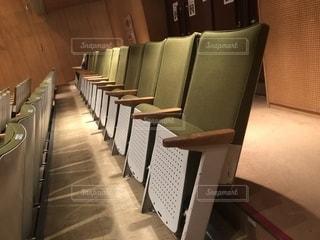 ホールの座席の写真・画像素材[2254954]