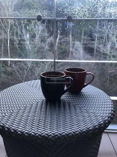 匂わせコーヒーカップの写真・画像素材[2842491]