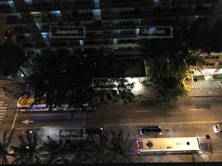 夜の道の写真・画像素材[842083]