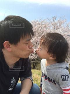 パパと娘。の写真・画像素材[843073]