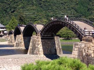 錦帯橋の写真・画像素材[843605]